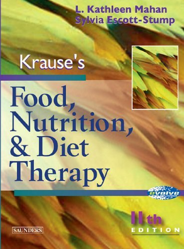 Krause's Food, Nutrition and Diet Therapy (Food, Nutrition & Diet Therapy ( Krause's)) by L. Kathleen Mahan MS RD CDE (2003-12-17) par L. Kathleen Mahan MS RD CDE;Sylvia Escott-Stump MA RD LDN