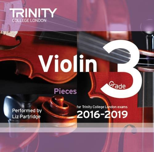 Violin CD Grade 3 2016-2019