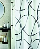 Spirella 10.11766 Ribbon Pearl black 180 x 200 cm