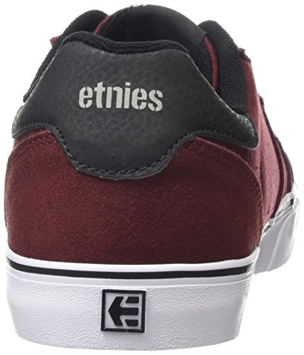 Etnies - Fader LS Vulc, Scarpe da skateboard Uomo Rosso (Red (Burgundy 602))