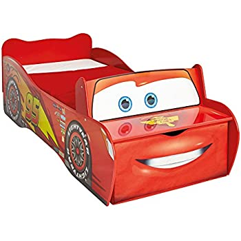 Lit pour enfant voiture Disney Cars Flash Mac Queen en bois