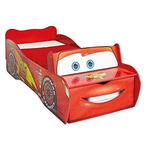 Worlds Apart Disney Cars Lightning McQueen - Bett für Kleinkinder von Worlds Apart Auto-bett Disney