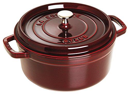 STAUB Cocotte Round 28cm Grenadine red