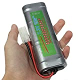 Zantec Dauerhafte vorzügliche große Kapazität 7.2V 5300mAH NI MH Akku für RC Auto Boot elektrische Modell Spielzeug