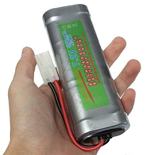Zantec Dauerhafte vorzügliche große Kapazität 7.2V 5300mAH NI MH Akku für RC Auto Boot elektrische Modell Spielzeug Nicd-pack