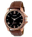 Felizer Roman Dial Brown Wrist Watch