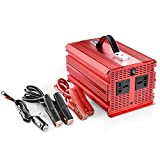 BESTEK 2000W Power Inverter DC 12V to 230V AC Car Converter with Cigarette Lighter Adapter and Battery Clip image