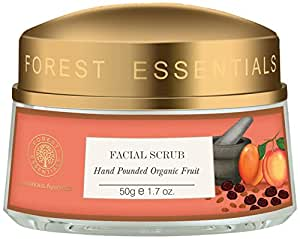 Forest Essentials Hand Pounded Organic Fruit Scrub, 50g