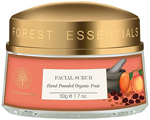 Forest Essentials Luxurious Ayurveda Facial Scrub Hand Pounded Organic Fruit 50g / 1.7 oz. by Forest Essentials -