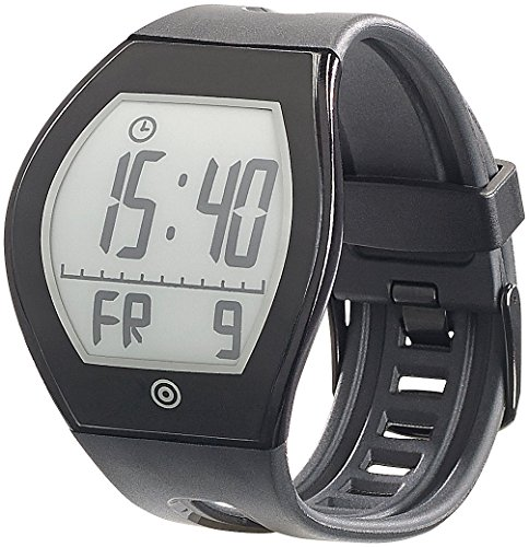 newgen medicals Smartwatch: E-Ink-Fitness-Tracker FBT-100-3D.u mit BT 4.0 (Bluetooth E Ink Fitness Armbanduhren)