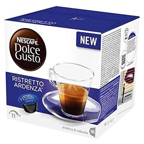 144 Capsule Caffe' Nescafe Dolce Gusto Ristretto Ardenza