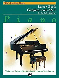 Alfred's Basic Piano Library Lesson Book Complete, Bk 2 & 3 by Willard A. Palmer (1992-01-10)