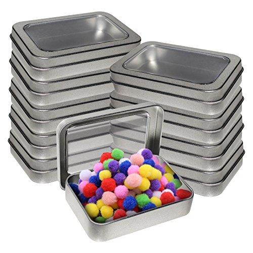 Kurtzy Cajas Metalicas Pequeñas Pack 10 Latas Aluminio