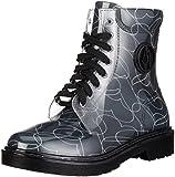 Armani Jeans 9251186A521, Damen Halbschaft Stiefel, Schwarz (Nero 00020), 40 EU