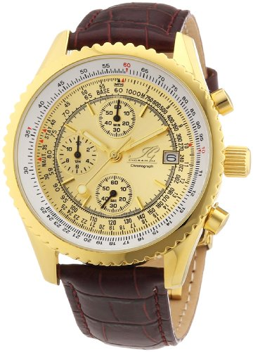 Ingraham Men's Quartz Watch Nantes IG NANT.1.600201 with Leather Strap