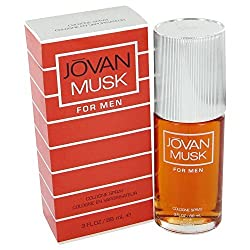 Jovan Musk for Men Fragrance 2.5 Oz