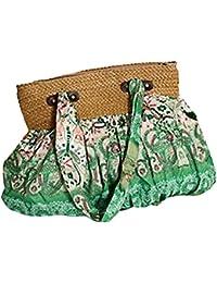Scothen Grand Sac de plage / sac à provisions sac de paille sac de plage sacs à main occasionnels Bohême ethnique sac de plage Sac à main Sac à bandoulière Satchels Totes Shopper modèle classique