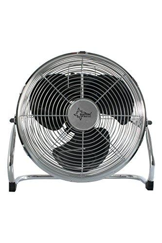 Suntec Wellness Bodenventilator CoolBreeze 5.000 BV [50 cm Flügel-Ø, 3 Stufen, TVentilatorflügelgehäuse um ca. 90° kippbar, 145 Watt]