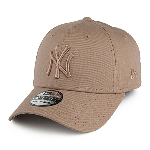 New Era 39THIRTY New York Yankees Baseball Cap - MLB League Essential - Camel