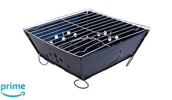 Landmann 11527 Portago Holzkohlegrill Schwarz : Fresh grills u klapp und tragbarer holzkohlegrill amazon garten