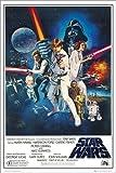 Póster Star Wars Episode IV - cartel económico, póster XXL