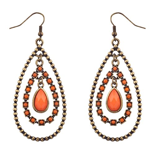 lux-accessories-orange-burnished-gold-tear-drop-statement-earrings