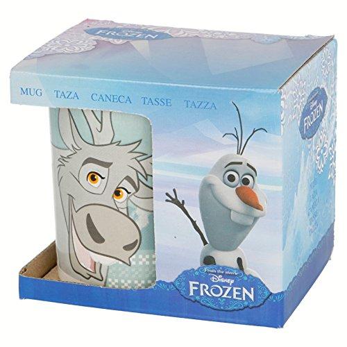 Disney Frozen Taza Promo Kids Ceramica 11oz en Estuche (STOR 78746)