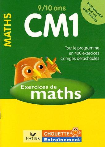 Mathématiques CM1 9/10 ans : Exercices de base