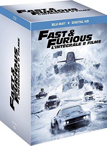 Fast and Furious - L'intégrale 8 films [Blu-ray + Copie digitale] [Import italien]