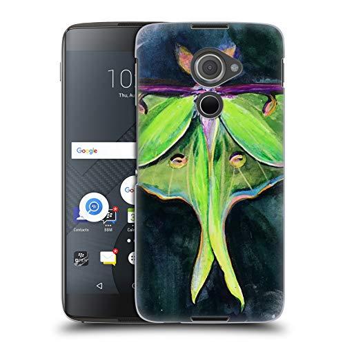 Head Case Designs Offizielle Mai Autumn Luna Motte Tiere Ruckseite Hülle für BlackBerry DTEK60