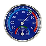Thermomètre hygromètre d'intérieur à affichage numérique de ménage SimpleMfD...