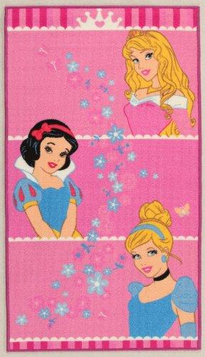 Disney tappeto princess crown 80x140 cm
