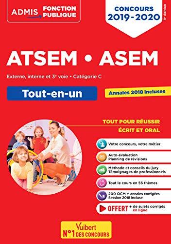 Concours ATSEM et ASEM - Catégorie C - Tout-en-un - Concours 2019-2020 par  Elodie Laplace