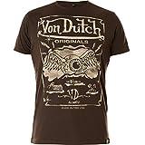 Von Dutch T-Shirt Eyball Phantom Braun, XXL