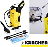 Karcher High Pressure Washer, K 2 Compact Car, Multi-Colour