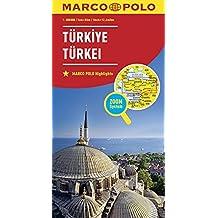 MARCO POLO Länderkarte Türkei 1:800 000 (MARCO POLO Länderkarten)