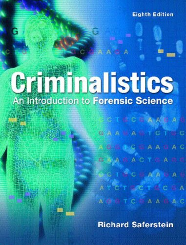 Criminalistics: An Introduction to Forensic Science (College Version): International Edition