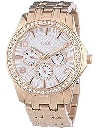 Guess Damen-Armbanduhr Analog Quarz Edelstahl W0147L3
