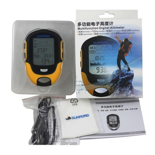 51VKZmdOyqL. SS500  - Home Care Wholesale Multifunction Digital Altimeter Barometer Compass for Outdoor Sports (Sunroad Model FR-500)
