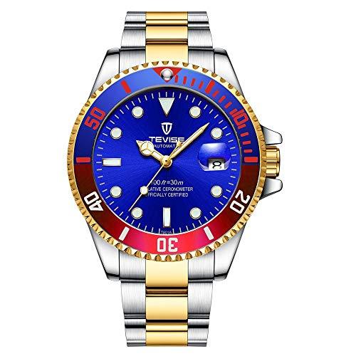 HWCOO Bellissimo orologio da polso Orologio da uomo in acciaio inossidabile...