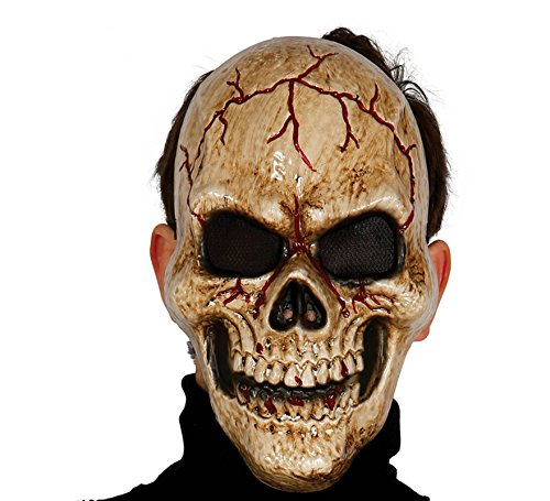 Monster Schädel Maske - Guirca Fiestas GUI2785 - dunkle
