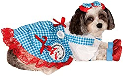 Rubie´s Wizard Of Oz Pet Costume, Large, Dorothy