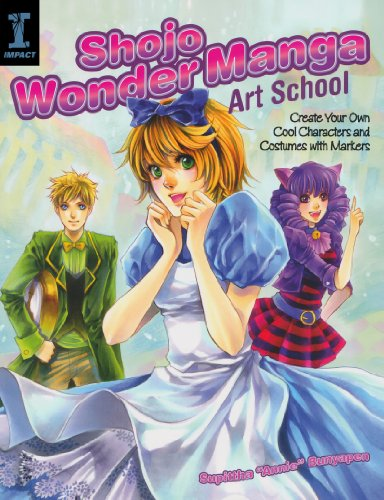 Shojo Wonder Manga Art School: Create Your Own Cool Characters and Costumes with Markers por Supittaha Bunyapen
