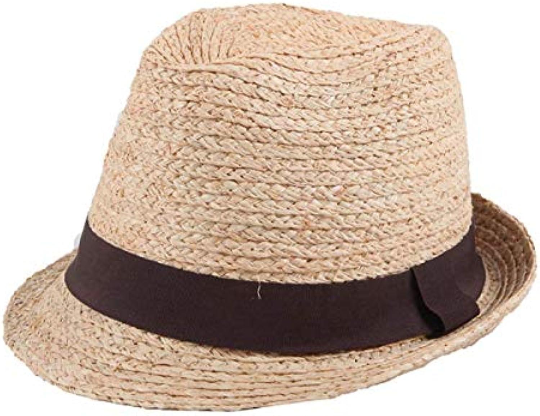 Oudan Cappello Estivo Tesa Larga da Donna in Sole Cotone Pieghevole  Antivento Cappello da Sole in 8ac3dacd7320