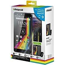 Polaroid Cosmos Smartphone libre 4G (pantalla: 5,5pulgadas–8GB–Dual SIM–Android) + pulsera conectable