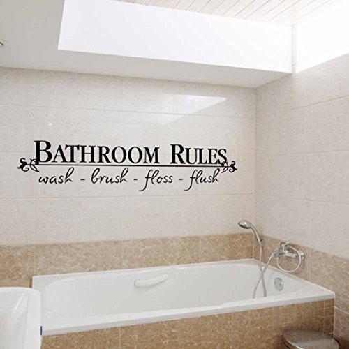 Vovotrade Amovible Autocollant Mural DIY Mural Accueil Decal Décor Pour salle de bains