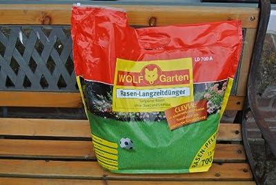 Wolf Garten LD700A Rasen Langzeitdünger 11,2 kg Tragebeutel von Wolf Garten - Du und dein Garten