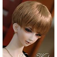 Tita-Doremi Peluca BJD Dollfie Pullip SD DOD DOC DD Brown Short doll toy Head
