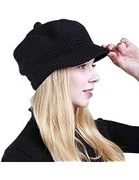 Damen Mütze  Wollmütze im Stil der 20ziger  Wollweiß  Damenmützen Strickmützen