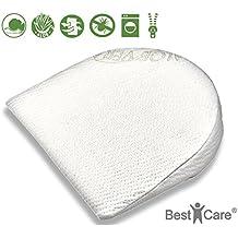 BestCare® - Cuscino per bambini, che allevia la pressione del corpo, traspirante 4 dimensioni. Si adatta perfettamente a molti comuni lettini per bambini, carrozzine, passeggini, lettini laterali